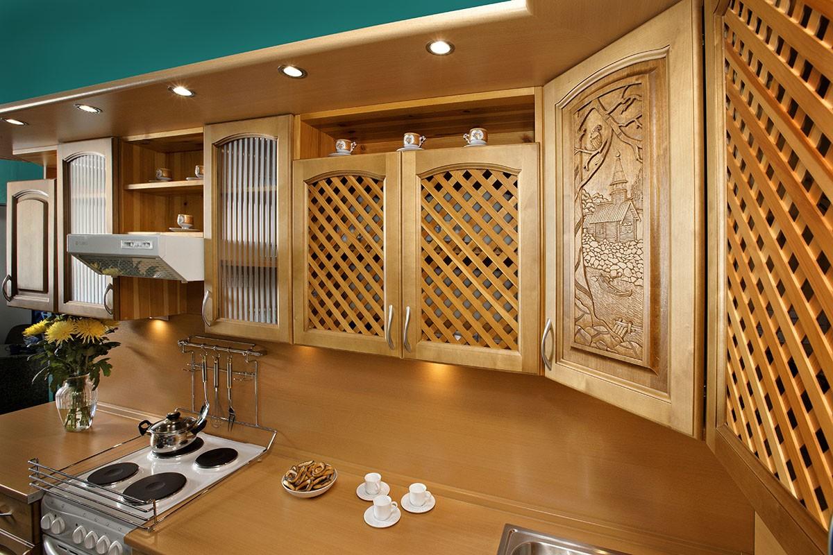 мебель для кухни из дерева фото случай толпы