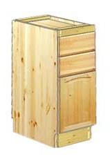 Тумба кухонная 30 с 2-мя ящиками купить в Москве недорого