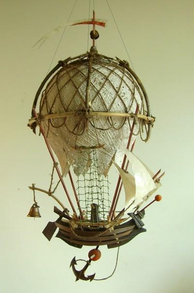 Арт-объект, Летучий кораблик