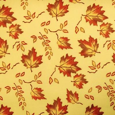 Ткань  № 28 Кленовая аллея для фасада со шторками