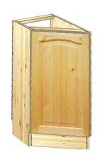 Тумба кухонная (шкаф-стол) усеченная 30см на заказ в Москве