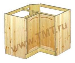 Шкаф под мойку  для кухни угловой от производителя - купить на сайте tmt.ru