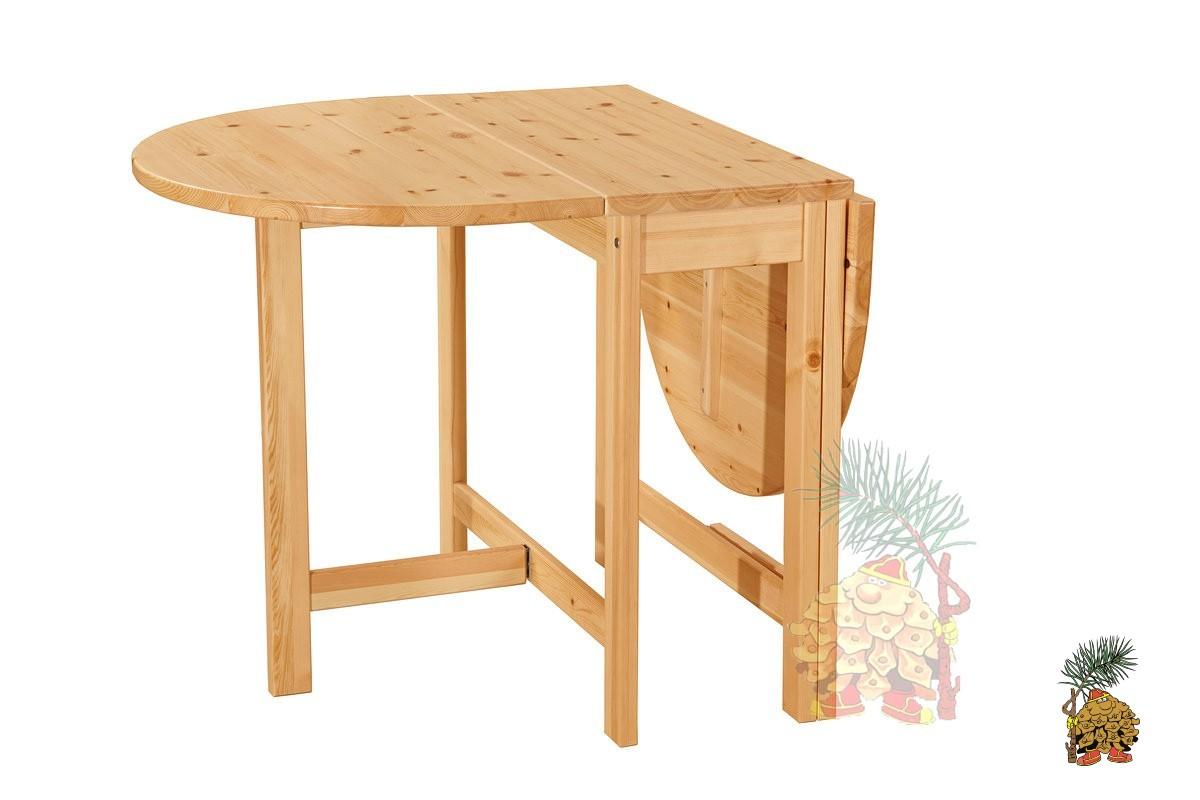 Клаффи-М, стол-книжка из сосны