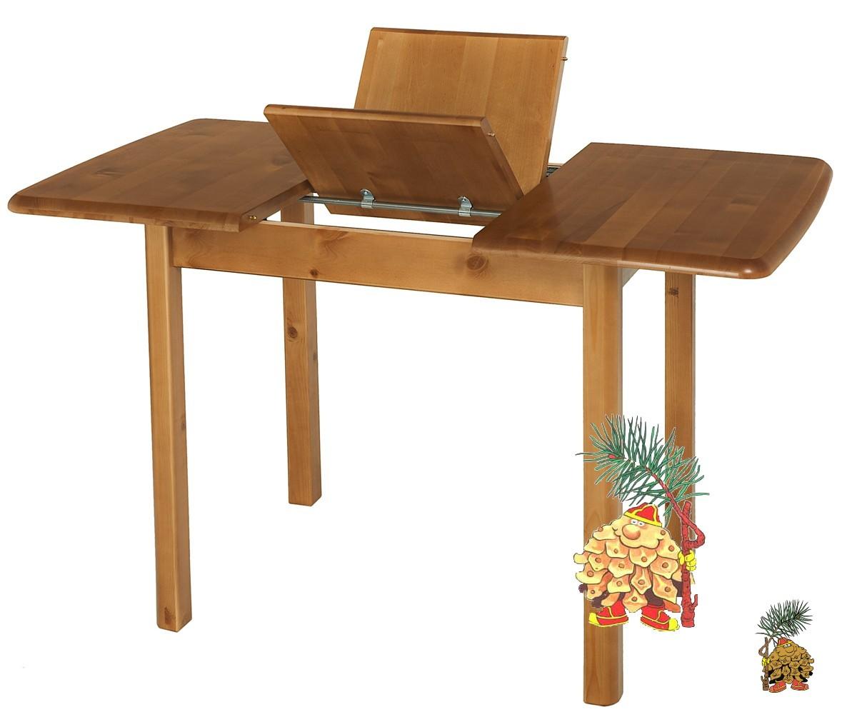 Обеденный раздвижной стол Теери из массива березы