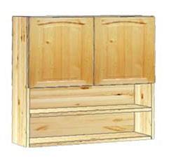 Шкаф кухонный навесной 80 с нишей внизу