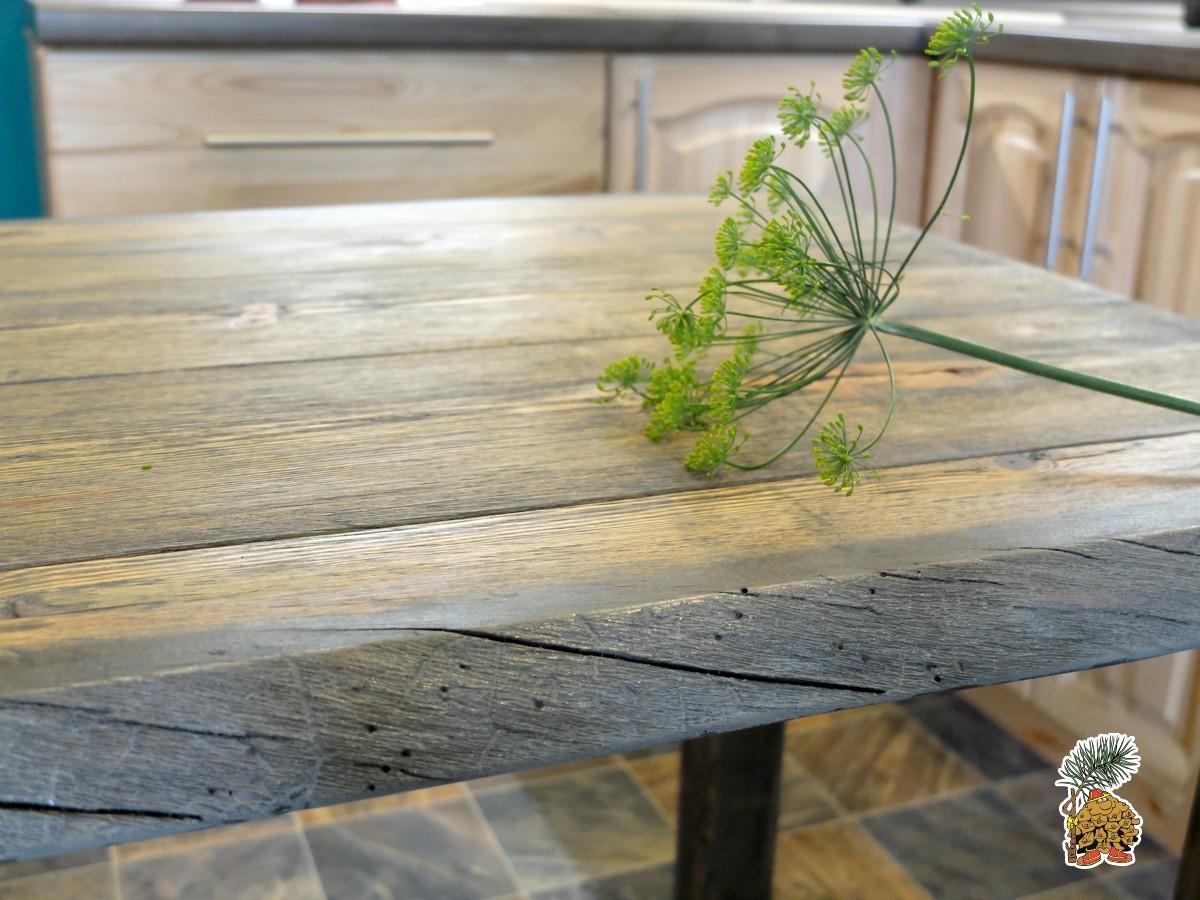 Столешницы обеденных столов лофт из массива дерева на заказ на сайте tmt.ru