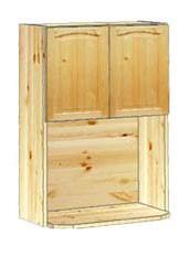 Шкаф кухонный навесной 60 с полкой под СВЧ