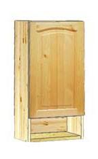 Навесной кухонный шкафчик 40 с нишей внизу недорого, купить в Москве