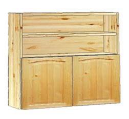 Шкаф кухонный навесной 80 с нишей вверху