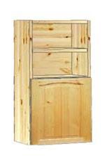 Шкаф кухонный навесной 40 с полками вверху