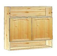Шкаф кухонный навесной 80 с нишами