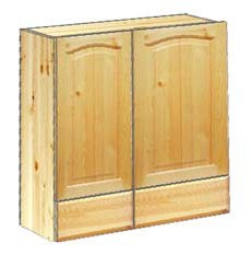 Шкаф кухонный навесной 70 с ящиками