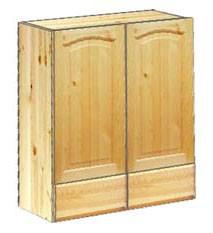 Шкаф кухонный навесной 60 с ящиками