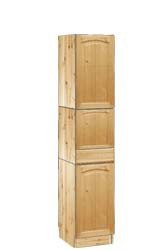 Шкаф пенал для кухни напольный из массива сосны - на сайте tmt.ru