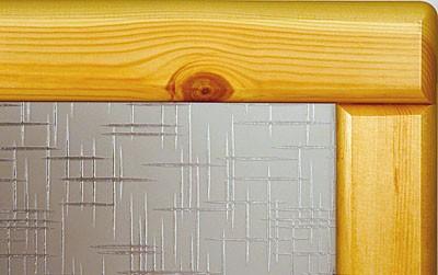 """Стекло для дверей """"Лабиринт"""" бесцветное"""