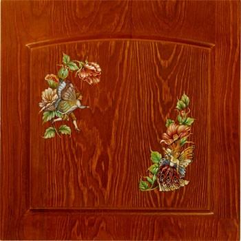 Роспись деревянной мебели из березы, дуба. ясеня и сосны на заказ