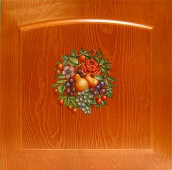 Роспись деревянной мебели, рисунок - натюрморт, купить в Москве