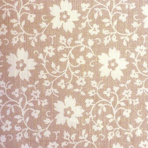 Образец ткани №8 Бежевая в крупный цветок для фасада со шторками, выбрать на сайте ТМТ