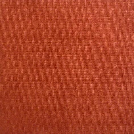 Варианты декора кухни тканью на сайте ТМТ. Однотонная ткань № 24 красная Бургундия