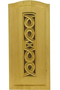 Филенка в дверку кухонного шкафа с резьбой «Фенно-Скандия» 4-12-Г-74х40 (прорезная)