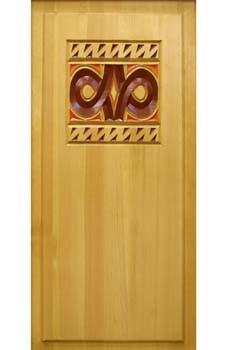 Филенка «Фенно-Скандия» 5-5-К-74х40 резьба с росписью, только на заказ в Москве