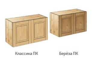 Антресоли для шкафов из сосны и березы