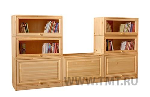 мебель для библиотек из сосны и березы