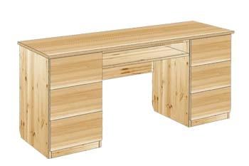 Стол письменный с ящиками №21