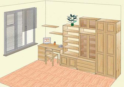 Экологичная мебель для детских комнат на заказ