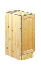 Тумба кухонная 30 см из сосны, на заказ по цене в Москве  от 7104 руб