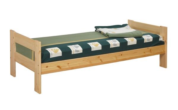 Кровать из сосны с двумя спинками