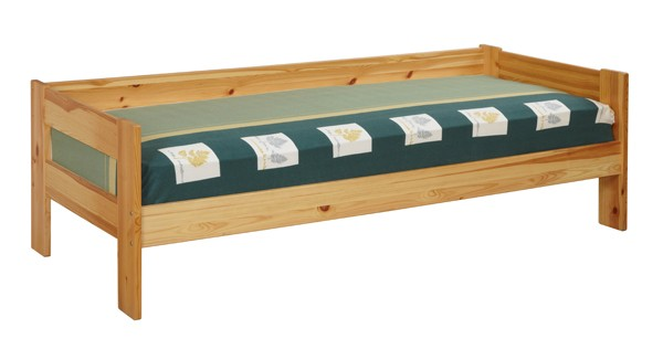 Кровать из сосны с тремя спинками в виде дивана купить на сайте tmt.ru