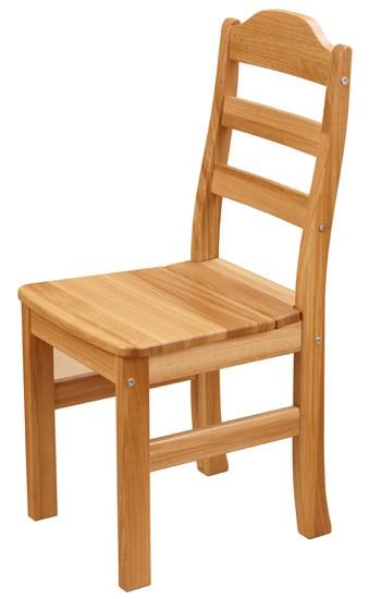 Карху - эргономичный стул  из массива дуба для кухни с высокой спинкой за 8971 руб.