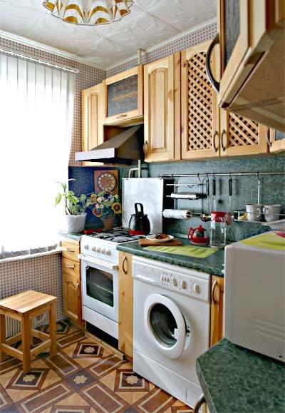 Кухня для хрущевки 6 кв. м.